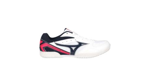 MIZUNO CROSSMATCH PLIO RX4 男桌球鞋-訓練 乒乓 丈青白螢粉@81GA183014@