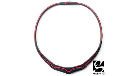 MASSA-G【 極光系列-Red】  鍺鈦項圈
