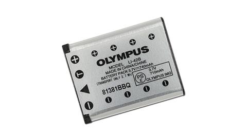 OLYMPUS Li-42B / Li-40B 相機專用原廠電池(全新密封包裝)