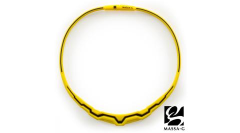 MASSA-G【The Aurora 極光系列-Yellow b.】鍺鈦項圈