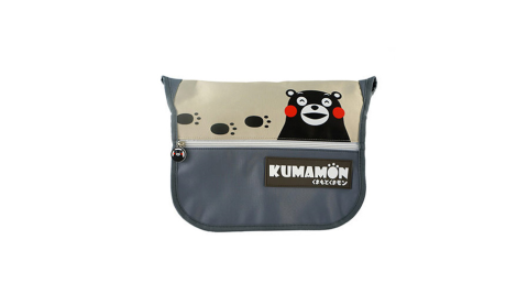 【KUMAMON】酷Ma萌腳印側背包(大)