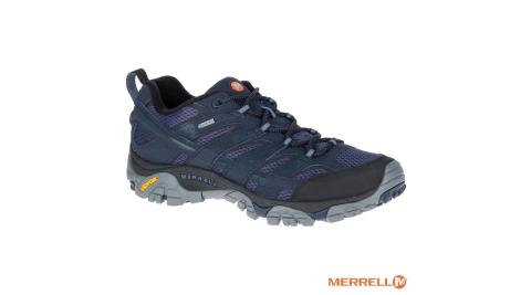 【MERRELL】MOAB 2 MID GORE-TEX 防水 登山健行鞋 男款 Vibram黃金大底 J12135