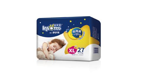嬰舒寶大寶寶穿的拉拉褲學步褲XL27片4包箱
