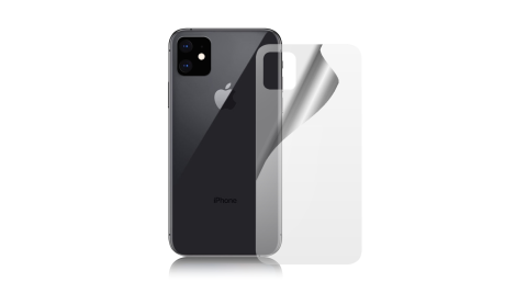 NISDA for iPhone 11 6.1吋 背面霧面防眩保護貼(背面使用)-非滿版 2張