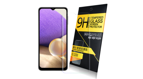 NISDA for 三星 Samsung Galaxy A32 5G 鋼化 9H 0.33mm玻璃螢幕貼-非滿版