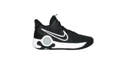 NIKE KD TREY 5 IX EP 男籃球鞋-訓練 中筒 避震 黑白@CW3402002@
