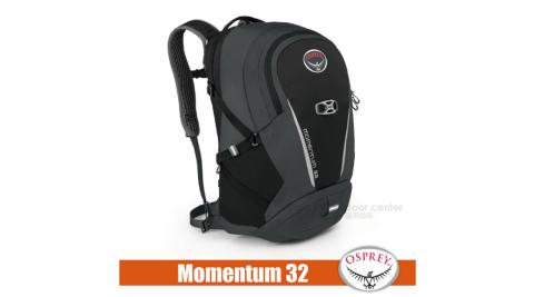 【美國 OSPREY】新款 Momentum 32 動量系列 多功能筆電包/適登山.健行.休閒旅遊.自助旅行_黑 R