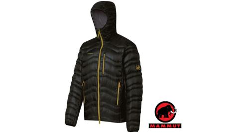 【瑞士 MAMMUT 長毛象】男限量新款 Shoulder Tour Jacket 高品質防風保暖鵝絨外套_墨黑 19490-0121