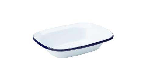 《Utopia》長方琺瑯烤盤(藍16cm)_長形模