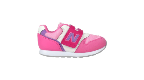 NEWBALANCE 女小童休閒運動鞋-WIDE-麂皮 996系列 NB 桃紅紫@IZ996MPP@