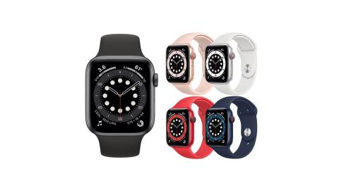 (預購)Apple Watch Series 6 (GPS+行動網路版) 40mm鋁金屬錶殼搭配運動型錶帶