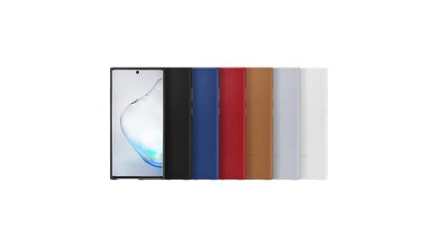 SAMSUNG GALAXY Note10 原廠皮革背蓋 (公司貨-盒裝)