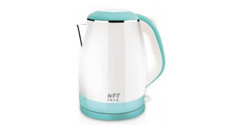 HTT雙層防燙快煮壺1.2L HTT-1811(藍)