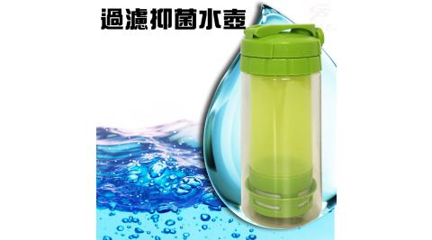 台灣專利製造PES水動能運動銀離子隨身濾水壺500ml/過濾器/SGS