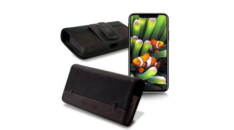 CB iPhone 8 Plus 5.5吋 品味柔紋橫式腰掛皮套