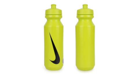 NIKE 大嘴巴水壺2.0-32OZ-慢跑 路跑 自行車 單車 運動水壺 綠黑@N000004030632@