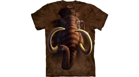 【摩達客】美國進口The Mountain  長毛象頭 T恤