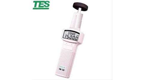 泰仕 光電接觸兩用式轉速計RM-1500+轉換接頭1502