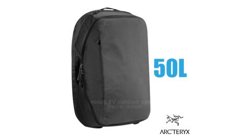 【加拿大 ARC'TERYX 始祖鳥】Covert CO 50L 專業輕量多功能休閒背包(雙向拉鍊_肩帶可拆卸)_11443 碳黑