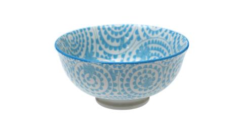 《Rex LONDON》瓷製餐碗(藤花藍12cm)