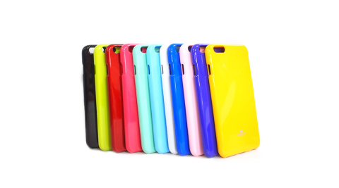 MERCURY Apple iPhone6 plus 亮面珠光矽膠套