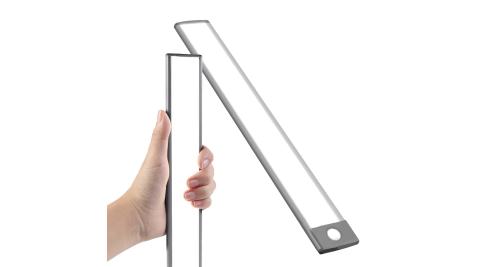 WEI BO原廠 磁吸式無線平板自動感應燈 內置54顆LED燈(32.3公分) (內置裡聚合物電池免牽線)萬用燈
