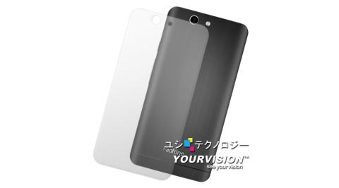 ASUS PadFone Infinity Lite A80C 變形手機 抗污防指紋超顯影機身背膜(2入)