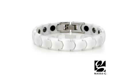 MASSA-G 【白色季節】精密陶瓷健康手鍊