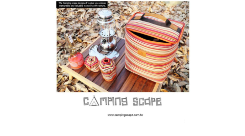 【Camping Scape】汽化燈收納袋(M) 收納袋 工具袋 露營