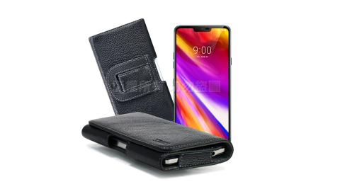 Xmart  for LG G7+ ThinQ / V30+ 麗緻真皮腰掛皮套