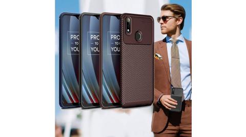 爵士焦點 realme 3 Pro 碳纖維防指紋軟式手機殼