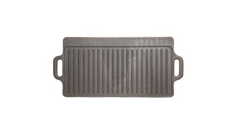 《KitchenCraft》雙面鑄鐵煎烤盤(45cm)