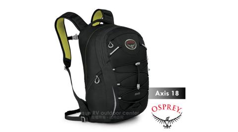 【美國 OSPREY】Axis 18L 城市穿梭電腦背包. 24seven全天候系列後背包.電腦包.書包/出差.健行.旅行/黑
