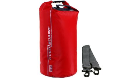【OVERBOARD】OB1005 CLASSIC 側背防水袋 20L 紅色