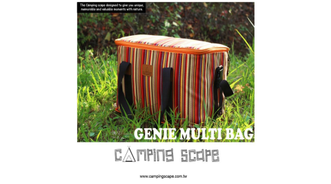 【Camping Scape】 Genie Multi 多功能收納袋 S 裝備袋 收納袋 露營