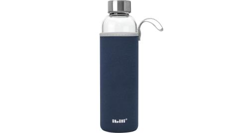 《IBILI》附套玻璃水壺(藍550ml)_水壺
