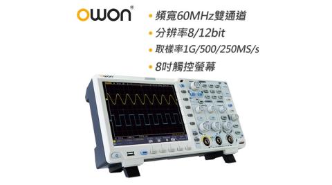 OWON 60MHz智慧型雙通道示波器 XDS3062A