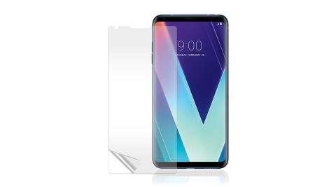 VXTRA LG V30S ThinQ 高透光亮面耐磨保護貼 保護膜(非滿版)