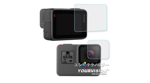 GoPro HERO5 相機鏡頭+觸控螢幕 鋼化玻璃膜 螢幕貼