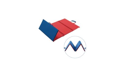 《孩子國》攜帶式四摺折疊地墊/爬行墊/體操墊(台灣製造)