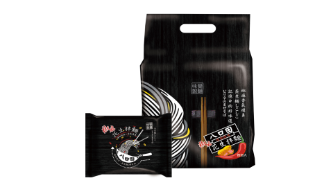 八口田椒麻拌麵12包(4包/袋)