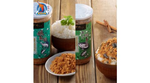 《東港華得》魚鬆禮盒-旗魚*2+鮪魚*2 (300g/罐,共4罐)