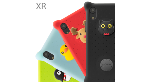 BONE / Phone XR 泡泡保護套
