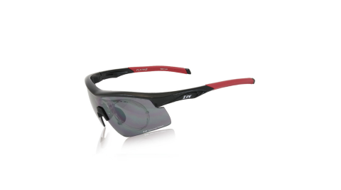 【ZIV】ZIV-運動眼鏡黑框-37-B104001-R FLYING可換片系列 墨鏡 太陽眼鏡