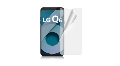 魔力 LG Q6 高透光抗刮螢幕保護貼-非滿版