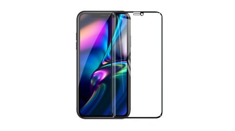 Dapad FOR iPhone XR / iPhone 11 極致防護3D鋼化玻璃保護貼-黑