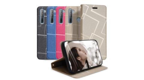 GENTEN for HTC Desire 21 Pro 極簡立方磁力手機皮套