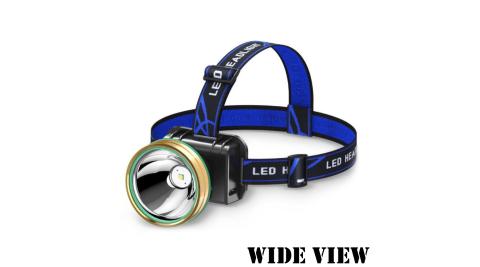 【WIDE VIEW】感應式大光杯超遠射頭燈(NTL-V18-P)