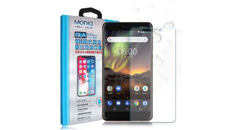 MONIA Nokia 6(2018) / Nokia 6.1 日本頂級疏水疏油9H鋼化玻璃膜 玻璃保護貼(非滿版)