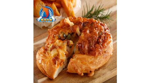 《東港華得》5.5吋純手工餅皮披薩 香辣起司雞(1片/包,共5包)